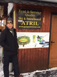 Ski hire and yummy food for the whole family at Atril